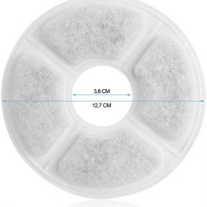 petftontein filter grootte